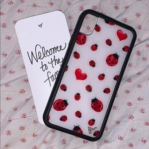 Wildflower Ladybug iPhone XR Case